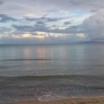 Il mare visto dalla veranda