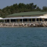 Il ristorante visto dal mare